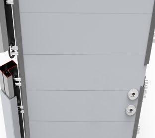 Puerta de seguridad Inn Door Securfeel